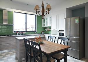 美式风格开放式厨房餐厅装修效果图赏析