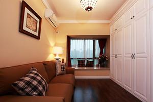 100平米美式田园风格精致室内装修效果图案例