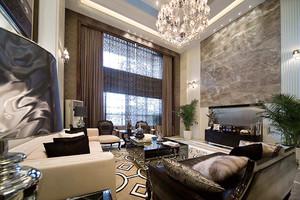 320平米欧式风格大气典雅别墅室内装修效果图案例