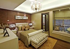 288平米欧式风格典雅精致别墅室内装修效果图案例