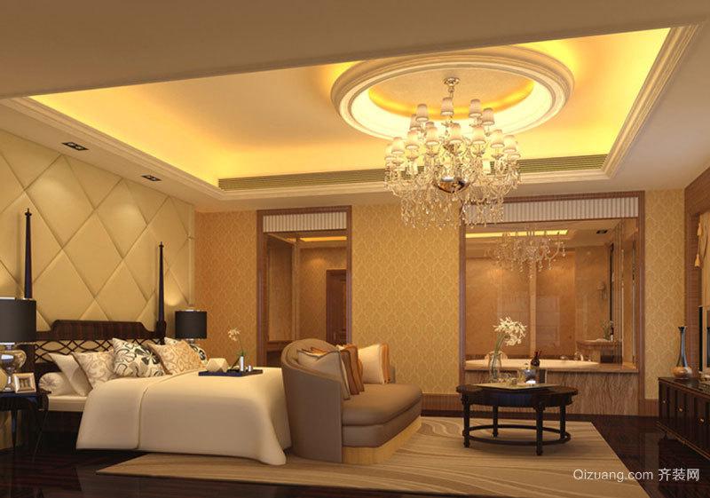 欧式风格大户型精美主卧室装修效果图赏析