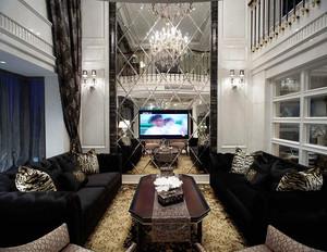 398平米新古典主义风格别墅室内装修效果图案例