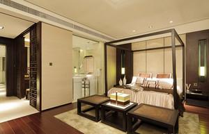 416平米新中式风格雅致别墅室内装修效果图案例