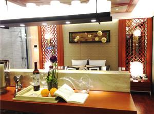 66平米中式风格复古雅致公寓装修效果图赏析