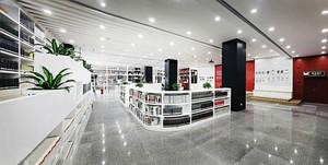 160平米现代简约风格大型书店设计装修效果图