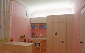 105平米美式风格简约三室两厅室内装修效果图案例