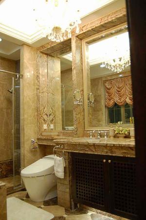 240平米欧式风格精美别墅室内装修效果图案例