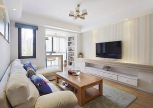 78平米宜家风格简约两室两厅室内装修效果图案例