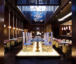中式风格精致餐厅设计装修效果图