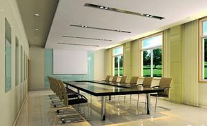 现代简约风格小型会议室装修效果图欣赏