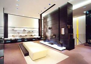 后现代风格简约鞋店设计装修效果图赏析