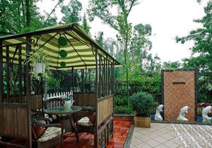 东南亚风格别墅花园设计装修效果图赏析