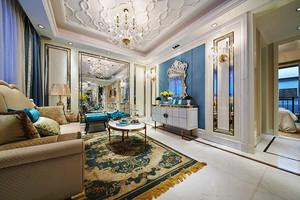 152平米法式风格精美别墅室内装修效果图案例