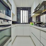 现代简约风格整体厨房橱柜设计装修效果图