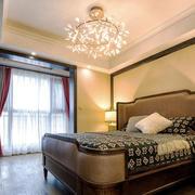美式风格大户型精致主卧室装修效果图赏析