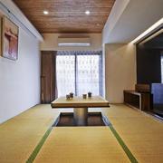 日式风格简约榻榻米装修效果图鉴赏