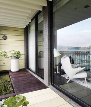 现代简约风格两室两厅室内装修效果图案例