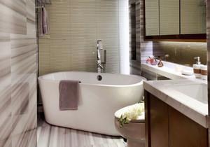 现代风格小户型卫生间装修效果图赏析