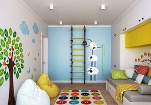 宜家风格温馨可爱儿童房设计装修效果图赏析