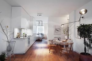 67平米简约风格精致单身公寓装修效果图赏析