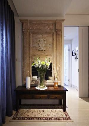 106平米简欧风格精致两室两厅室内装修效果图案例