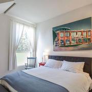 简约风格素雅自然卧室装修效果图赏析