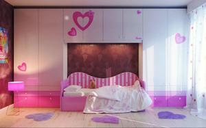 简约风格温馨可爱儿童房设计效果图大全