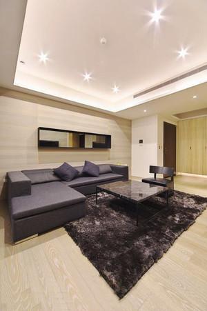 日式风格简约两室一厅室内装修效果图案例