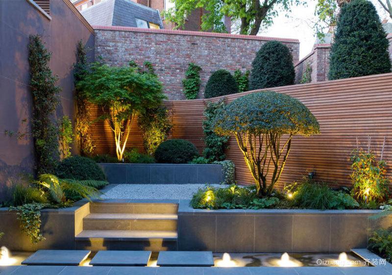 现代风格精致别墅别致花园设计装修效果图赏析