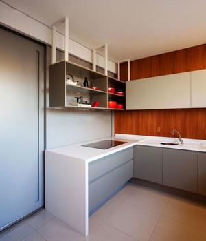现代简约风格小户型厨房装修效果图赏析