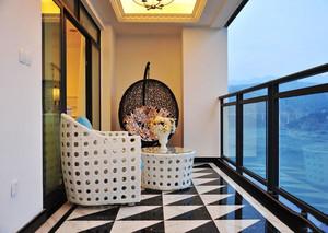 现代风格精美阳台设计装修效果图赏析