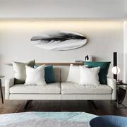 宜家风格简约小户型客厅背景墙装修效果图赏析