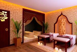 东南亚风格美容院房间装修效果图赏析