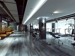 200平米现代风格健身房装修效果图欣赏