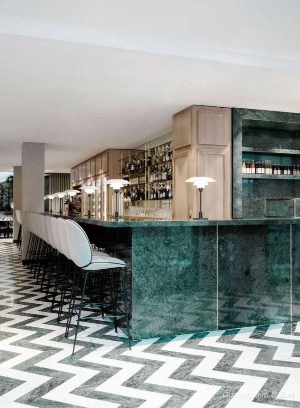 后现代风格创意酒吧吧台设计装修效果图赏析