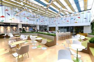 现代简约风格休闲咖啡厅装修效果图赏析