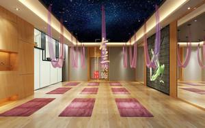 80平米简约风格瑜伽馆房间装修效果图赏析