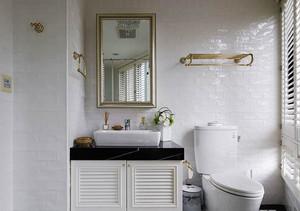 北欧风格简约小户型卫生间装修效果图赏析