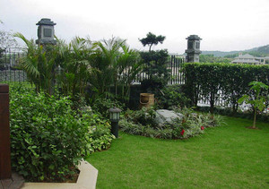 欧式风格别墅精美花园设计装修效果图赏析