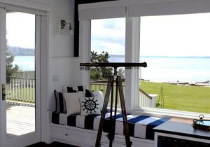 地中海风格精美休闲飘窗设计装修效果图