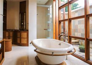 东南亚风格别墅室内精致卫生间装修效果图赏析