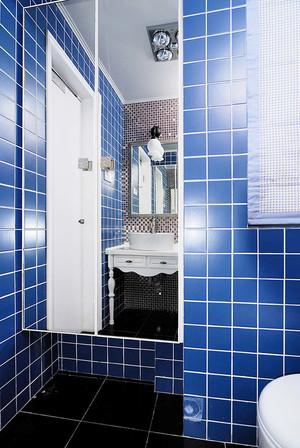 98平米混搭风格精致三室两厅室内装修效果图案例