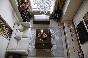 182平米简欧风格精致复式楼室内装修效果图赏析