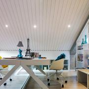 简约风格精致阁楼书房设计装修效果图赏析