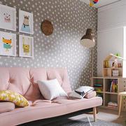 简约风格温馨浅色儿童房设计装修效果图欣赏