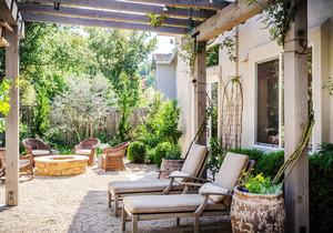 欧式风格别墅自然别墅花园设计装修效果图