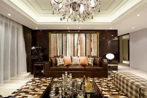 158平米新中式风格四室两厅室内装修效果图案例