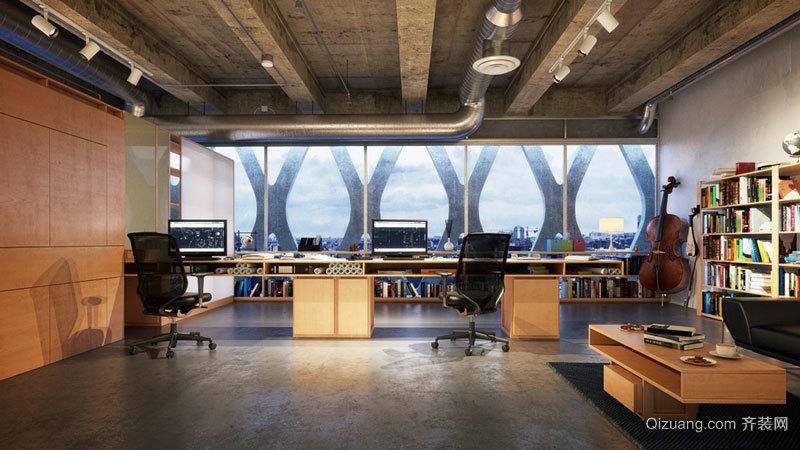100平米后現代風格辦公室裝修效果圖