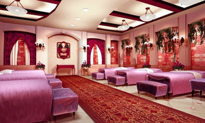 欧式风格精致美容院包厢设计装修效果图