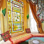 东南亚风格别墅精致飘窗设计装修效果图赏析